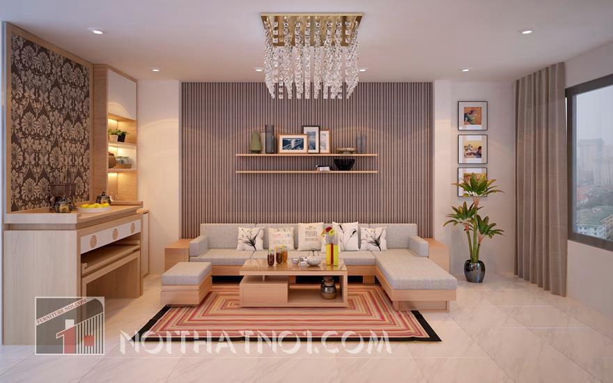 Mẫu sofa gỗ đẹp cao cấp