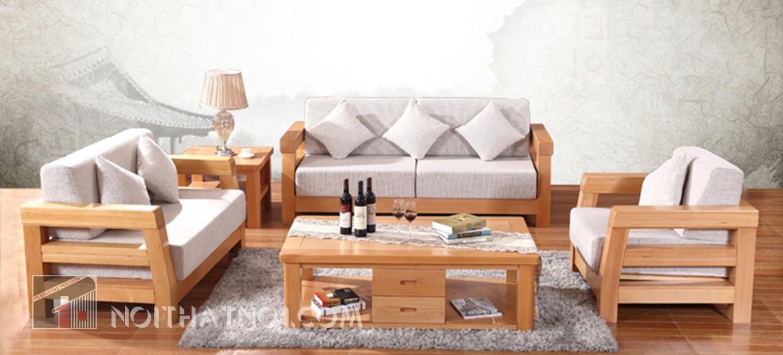 mẫu bàn ghế phòng khách sang trọng