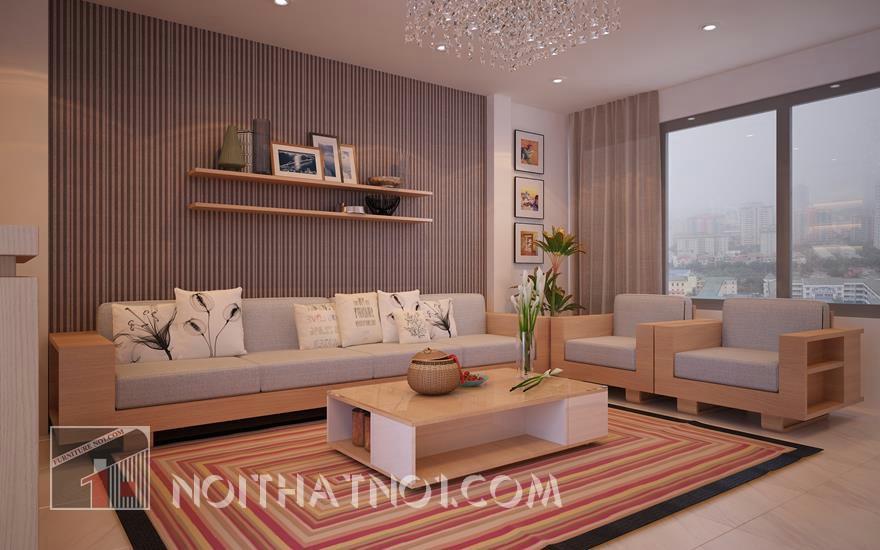 mẫu bàn ghế phòng khách đẹp ấn tượng
