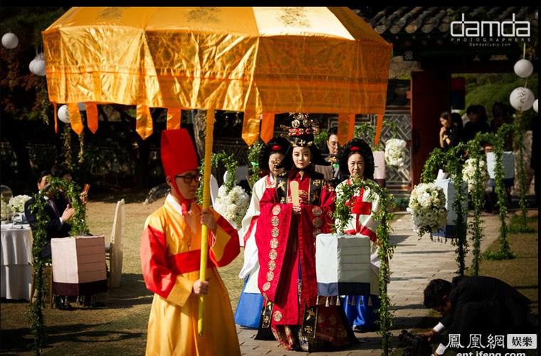 Đám cưới của người Hàn Quốc - Cô dâu Hàn Quốc đi bộ đến nhà chồng