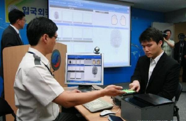 Thủ tục nhập cảnh vào Hàn Quốc