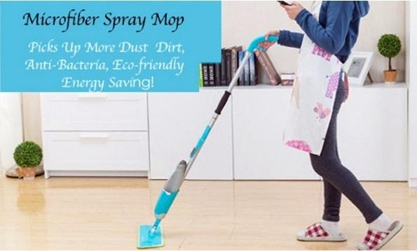 Chổi lau sàn Healthy Spray Mop