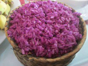 Xôi tím - món ăn đặc trưng của người dân rừng núi phía Bắc