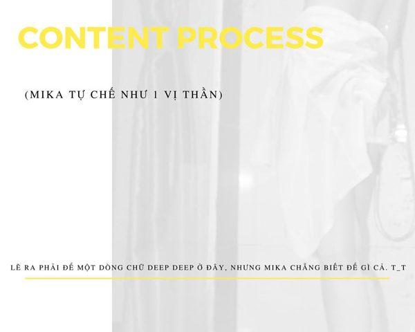 Content Process, truyền tải thông điệp có ý nghĩa qua 6 bước