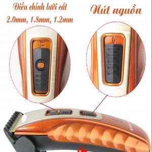 Sản phẩm Tông đơ cắt tóc Kemei KM - 519A được thiết kế nhỏ gọn, tiện dụng