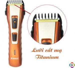 Lưỡi cắt mạ titanium đảm bảo sự sắc bén và độ bền của sản phẩm