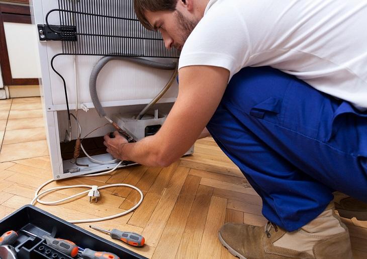 Xác định biểu hiện khi tủ lạnh bị xì gas.