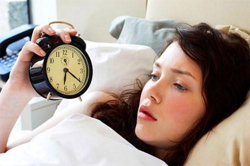 Mất ngủ khiến cơ thể mệt mỏi