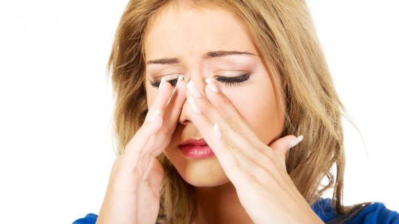 Xoang mũi gây khó chịu