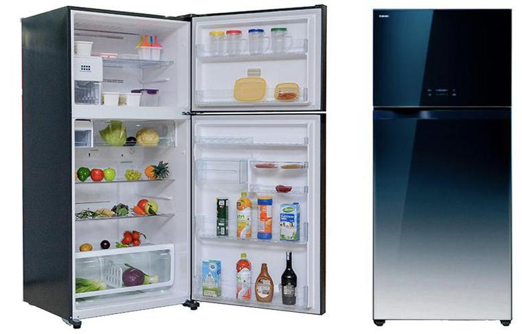 Tủ lạnh Toshiba có thiết kế hiện đại, sang trọng