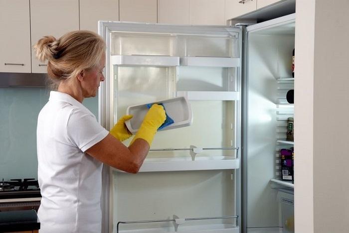 Khử mùi trong tủ lạnh đơn giản