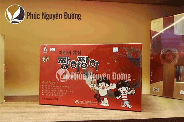 Cheong Kwan Jang - Hồng sâm cho trẻ em từ 3 – 4 tuổi (dạng gói)