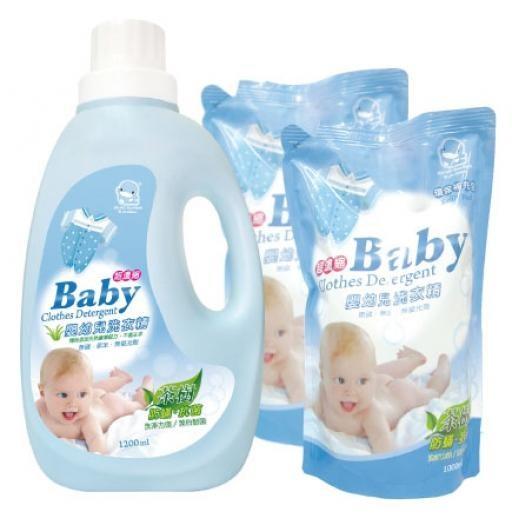 Giặt đồ cho trẻ sơ sinh bằng bột giặt gì?