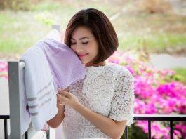 Cách giặt áo quần thơm lâu bằng máy giặt