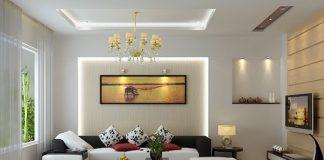 Chọn đèn chiếu sáng trong phòng khách như thế nào?