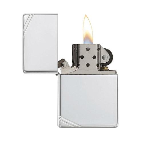 Zippo bạc nguyên khối, sang trọng, đẳng cấp cùng thời gian