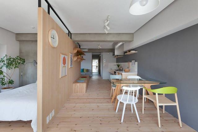 Bài trí nhà bếp nhỏ cho nhà nhỏ hẹp