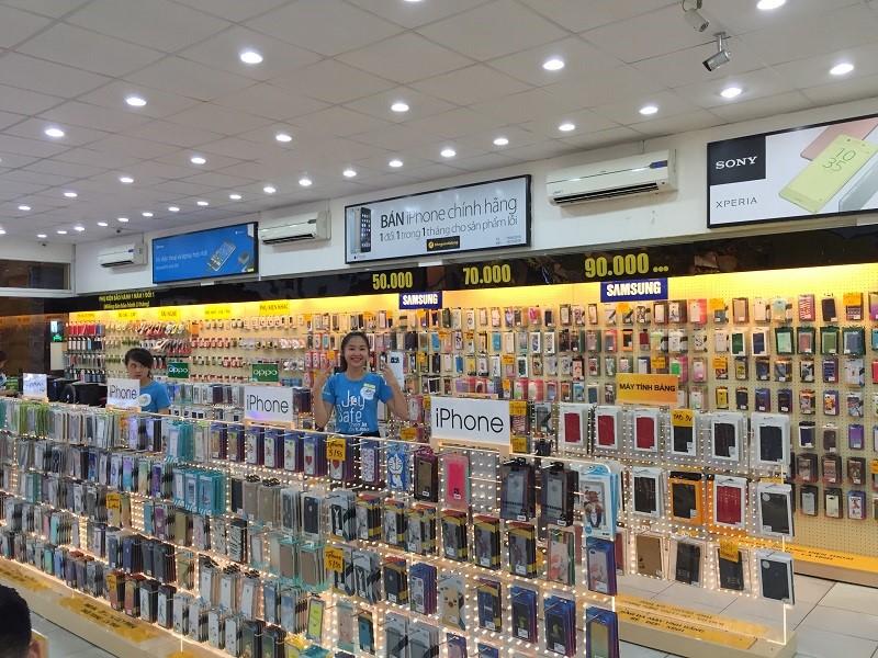 Cửa hàng kinh doanh ốp điện thoại