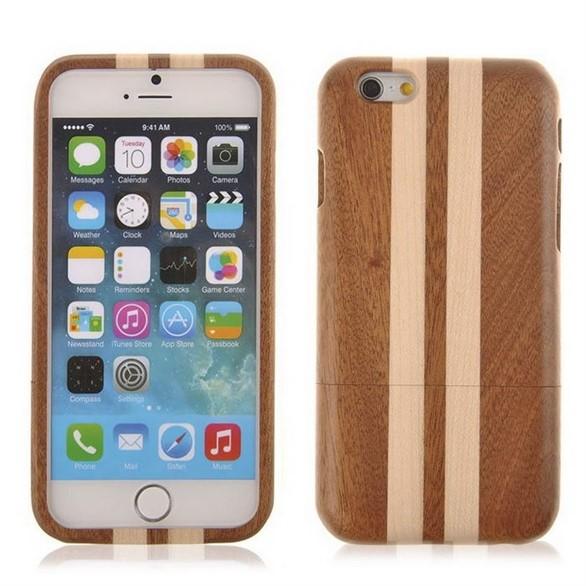 Ốp iPhone 6 từ vỏ gỗ