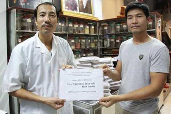 Cùng lương y Phạm Văn Thành chữa bệnh dạ dày