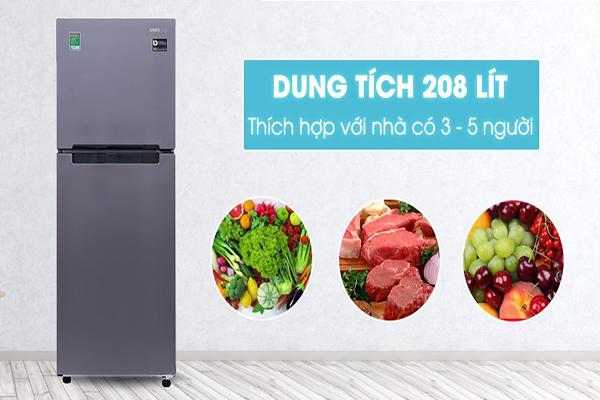 Công nghệ được ứng dụng trong tủ lạnh Samsung 208 lít rt19m300bgs SV