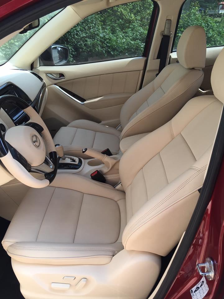 Bọc ghế da cho xe Mazda CX5 ở đâu uy tín, chất lượng và giá cả phải chăng?