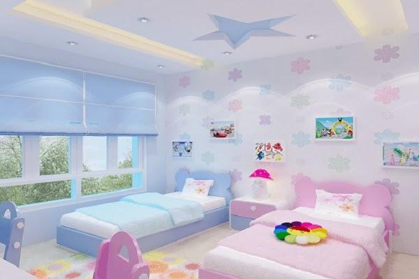 Ý nghĩa của việc trang trí phòng ngủ cho bé
