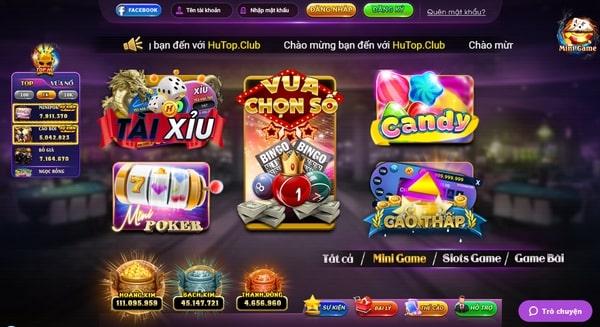 HuTop là cổng game đổi thưởng uy tín được yêu thích