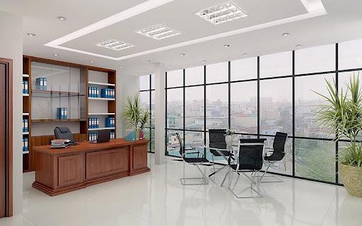 Nội thất văn phòng hiện đại ưa chuộng sự tối giản